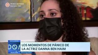 Danna Ben Haim: los momentos de terror que vivió tras ser retenida por Jaime Cillóniz