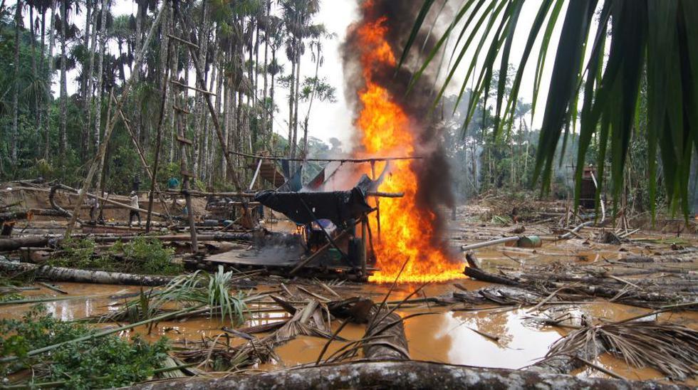 Recuperan 500 hectáreas del Tambopata invadidas por mineros - 4