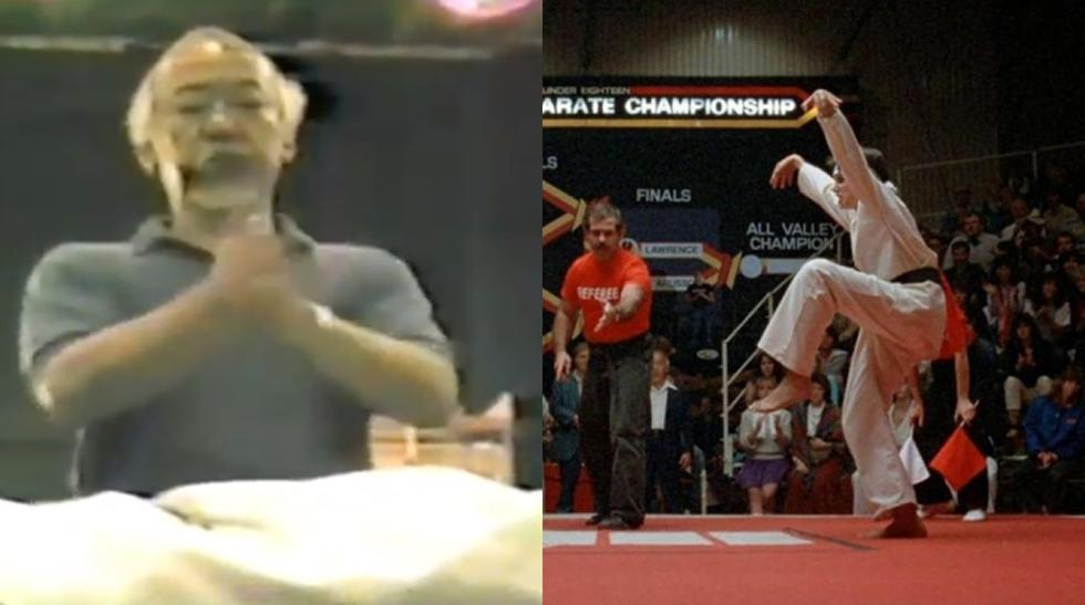 Karate Kid: nuevo video del ensayo de la pelea final se viraliza en redes