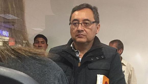 Caso Odebrecht: Ex viceministro Jorge Cuba retornó al Perú