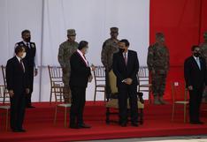 Martín Vizcarra y Manuel Merino participaron en ceremonia por el Día de las Fuerzas Armadas   FOTOS