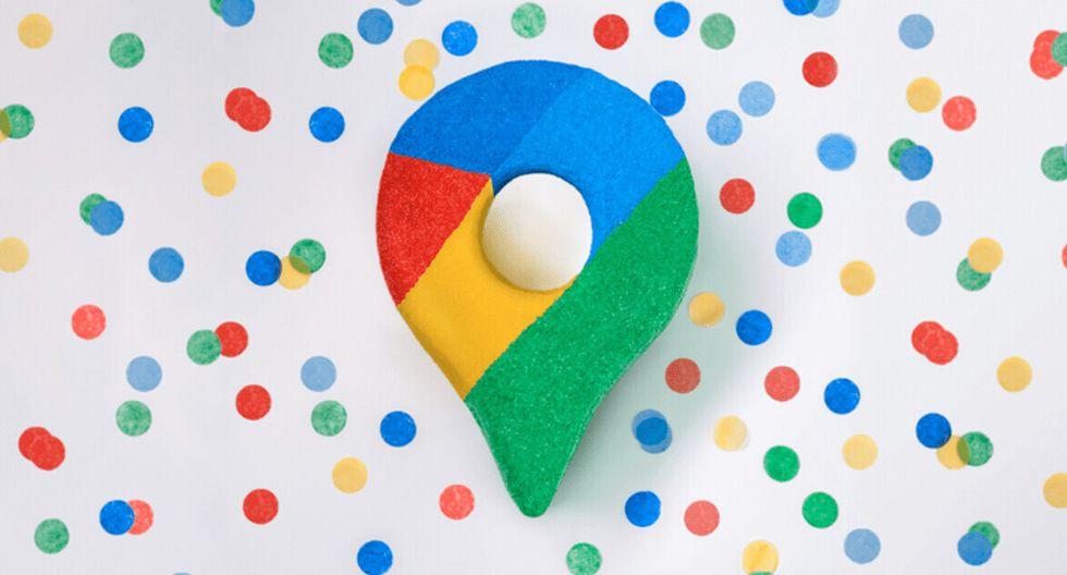 Google Maps cambia radicalmente de logo y de diseño. Ahora luce así. (Foto: Google)