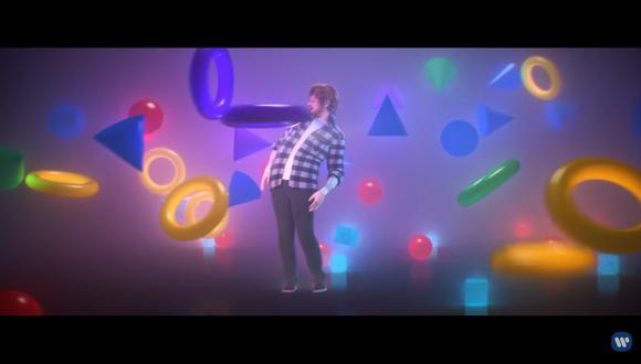 "Ed Sheeran lanzó el videoclip de ""Cross Me"" en YouTube (Foto: Captura de pantalla)"