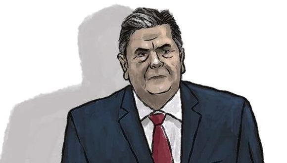 El fiscal José Domingo Pérez había pedido incautar el celular de Alan García, pero el Poder Judicial declaró improcedente el requerimiento en agosto del 2019. (Ilustración: Víctor Aguilar / El Comercio)