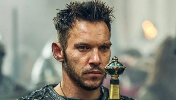 """Jonathan Rhys Meyers interpretó al obispo Heahmund en """"Vikings"""" (Foto: History Channel)"""