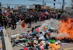 Policía de Chile inicia investigación por quema de pertenencias de migrantes venezolanos en Iquique