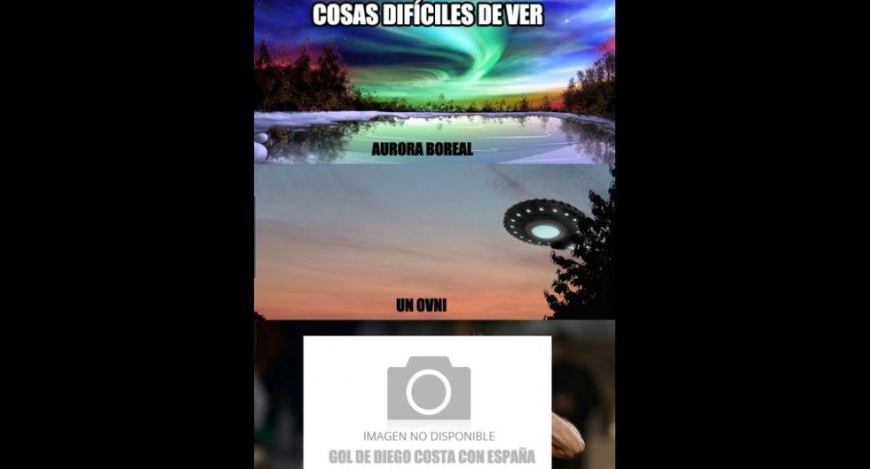 Diego Costa y los memes que generó por su primer gol con España - 6