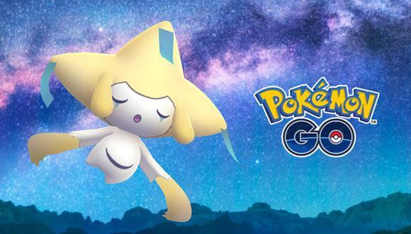 Jirachi es un pokemon legendario que tiene varios usos en los combates. (Foto: Pokémon Go)