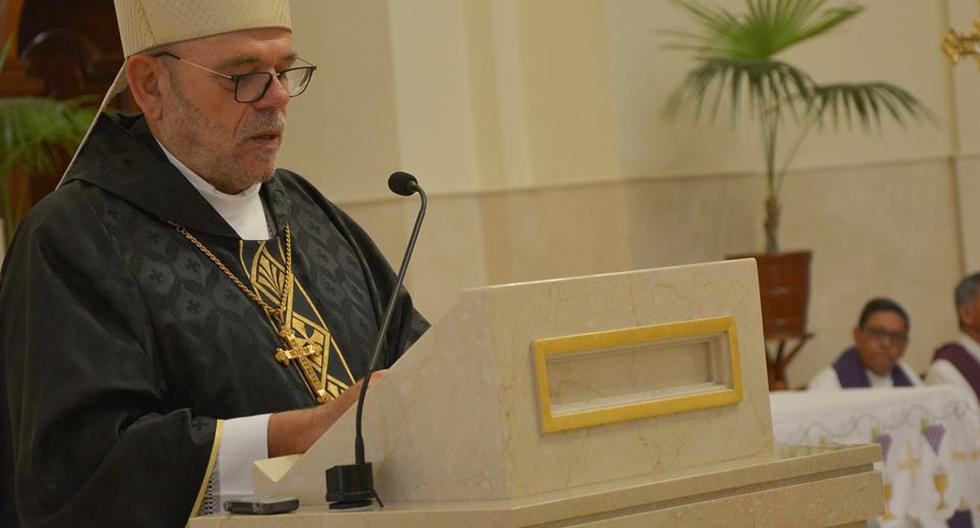 Del Palacio fue nombrado como obispo del Callao bajo el mandato del papa Benedicto XVI en 2012. (Facebook / Diócesis del Callao)