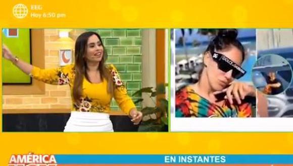 """Ethel Pozo envía mensaje a Tilsa Lozano: """"Necesitas un hombre que te respete más"""". (Foto: captura de video)"""