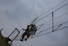 El circuito de cuerdas que todo aventurero debe hacer cerca de Lima | FOTOS