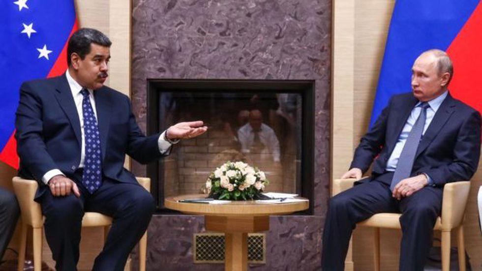 El apoyo de Moscú ha sido clave para Nicolás Maduro.