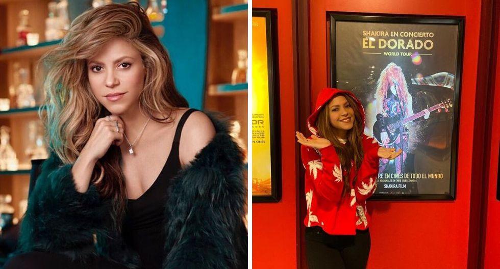 La cantante estrenó su película a nivel mundial. (Foto: @shakira )