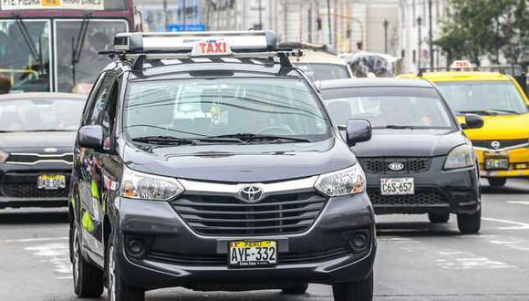 Taxistas sí pueden trabajar durante el toque de queda, pero bajo ciertas condiciones. (Foto: MTC)