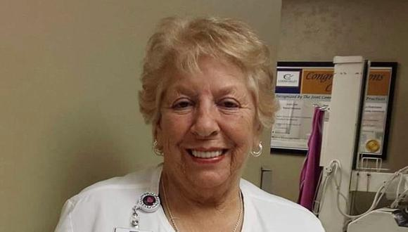 Betty Grier Gallagher, la enfermera que se negó a jubilarse para luchar contra el coronavirus, falleció poco antes de cumplir 79 años. (Foto: Coosa Valley Medical Center / Facebook)