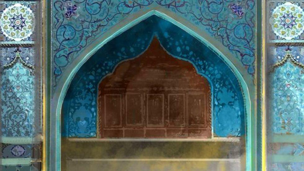 El santuario de Kadhimiya en Bagdad. 8Foto: BBC Mundo)