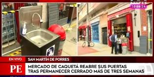 Mercado Caquetá: 103 establecimientos abrieron cumpliendo protocolos de bioseguridad