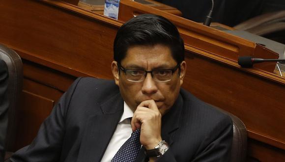 El ministro de Justicia, Vicente Zeballos, dijo que el Poder Judicial debería rectificar el nombramiento de Vicente Walde en la OCMA. (Foto: GEC)
