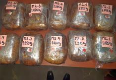 Decomisan 20 kilos de clorhidrato de cocaína y 30 kilos de marihuana