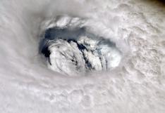 Astronauta toma una foto desde el espacio del monstruoso huracán Dorian