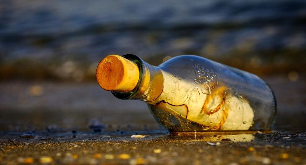 La botella con el mensaje viajó una gran distancia durante estos años. (Foto: Referencial - Pixabay)