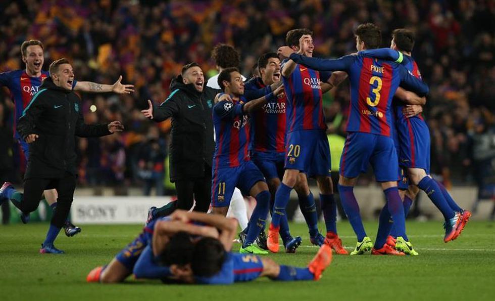 Los culés disputaban los octavos de final de torneo contra el PSG. En el partido de ida jugado en París, los locales sorprendieron venciendo por un 4-0. (Foto: Agencias)