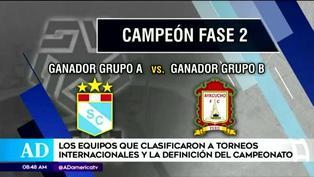 Liga 1: ¿Cómo se definirá el título del fútbol peruano?