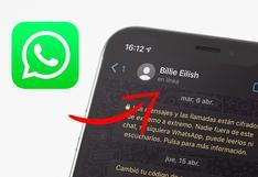 """Cómo saber quién está """"en línea"""" en WhatsApp sin abrir la aplicación"""