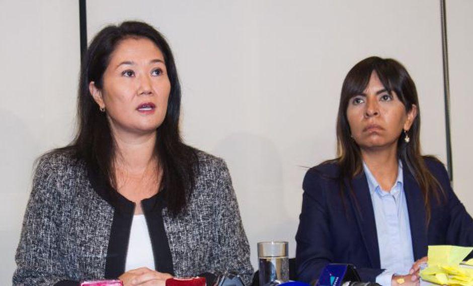 """""""Nosotros desde luego lamentamos, reprochamos y condenamos cualquier tipo de violencia"""", dijo la abogada de Keiko Fujimori. (Foto: Archivo El Comercio)"""