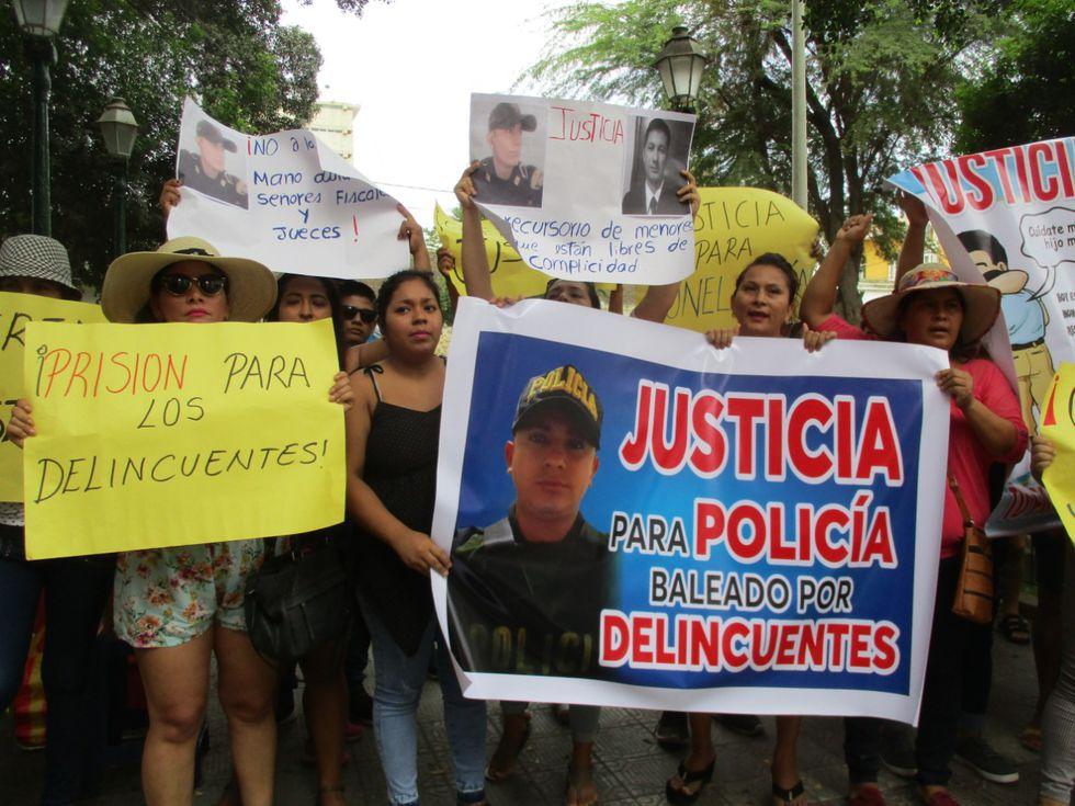 Piura: dictan 9 meses de prisión preventiva para acusado de disparar a policía