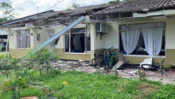 Colombia: Ataque con explosivos del ELN contra batallón del Ejército deja 3 heridos. (El Tiempo de Colombia / GDA)
