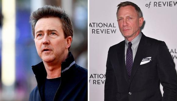 Edward Norton se unirá a Daniel Craig en la nueva cinta de Netflix. (Foto: Angela Weiss / Tiziana Fabi / AFP).