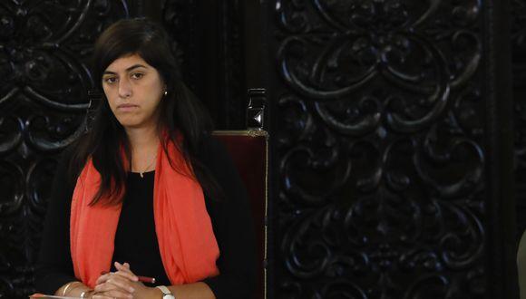La ministra María Antonieta Alva se refirió al debate de la reforma política en el Congreso. (Foto: Piko Tamashiro / GEC)