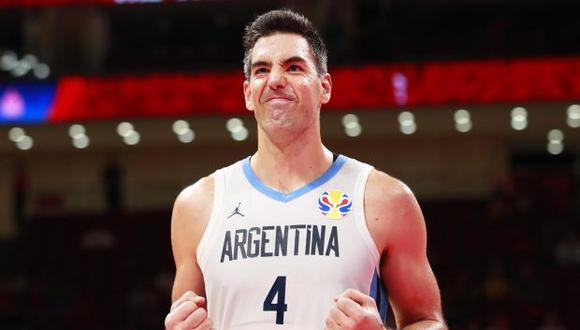 Luis Scola, capitán de la selección argentina. (Foto: EFE)