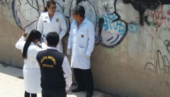 Arequipa: restos de mujer fueron encontrados en una torrentera