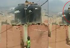 Puente Piedra: investigan caso de niños hallados dentro de un tanque de agua
