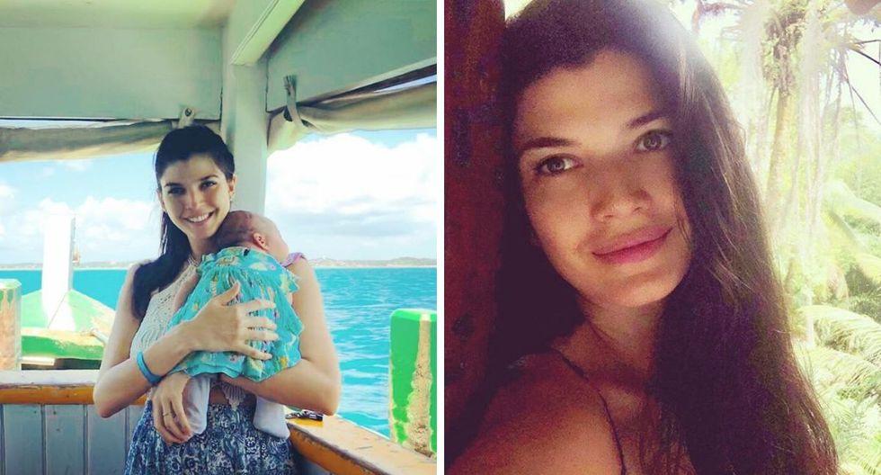 Nicole Faverón se encuentra varada en una isla en Brasil cuando debía estar en Alemania. (@nicolefaverón)