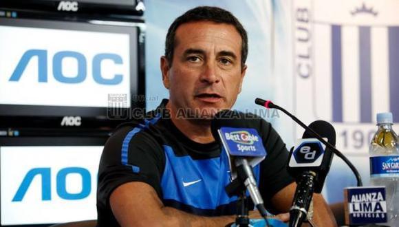 Sanguinetti y lo que dijo tras el 5-0 de Alianza ante Cienciano