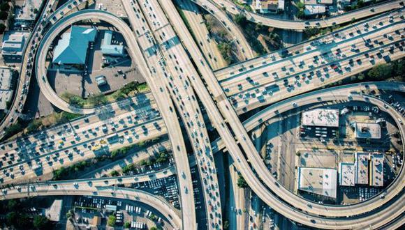 California es el estado más rico de Estados Unidos... y uno de los que peor tráfico tiene. (Getty Images).