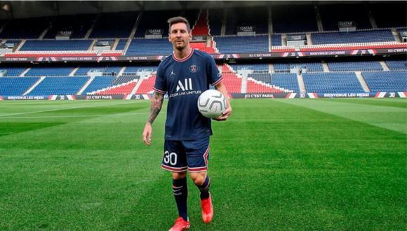Lionel Messi firmó con el PSG por dos temporadas con opción de renovar una más. (Foto: PSG)