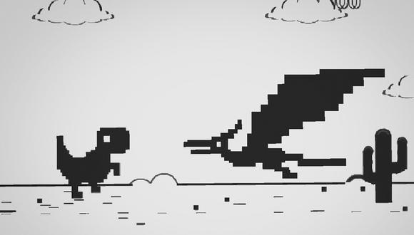 ¿Sabías de este espectacular nivel secreto de T-Rex? Conócelo aquí y empieza a jugarlo en Google Chrome. (Foto: Google)