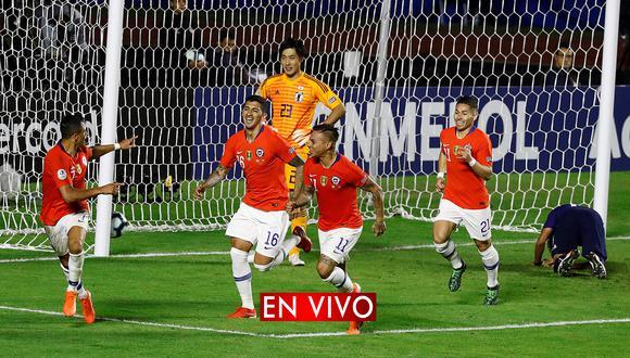 Chile se hizo fuerte y aprovechó las jugadas de cara al arco para llevarse la victoria.   EFE