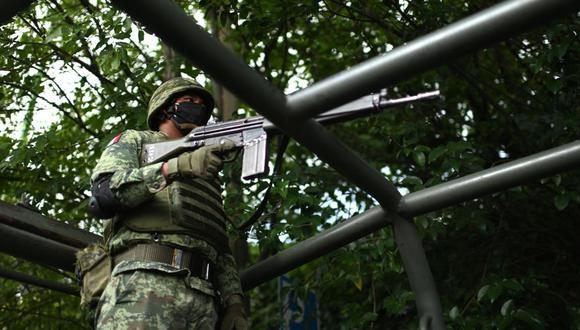 Las fuerzas de seguridad actuaron con rapidez, según las autoridades. (Foto: PEDRO PARDO / AFP)