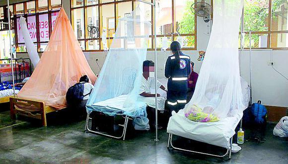 El dengue figura entre los males con mayor incidencia en regiones del norte y la selva. Desde enero a la fecha, esta enfermedad ha dejado 28.561 casos, casi tres veces más que lo reportado el año anterior (Foto: cortesía)