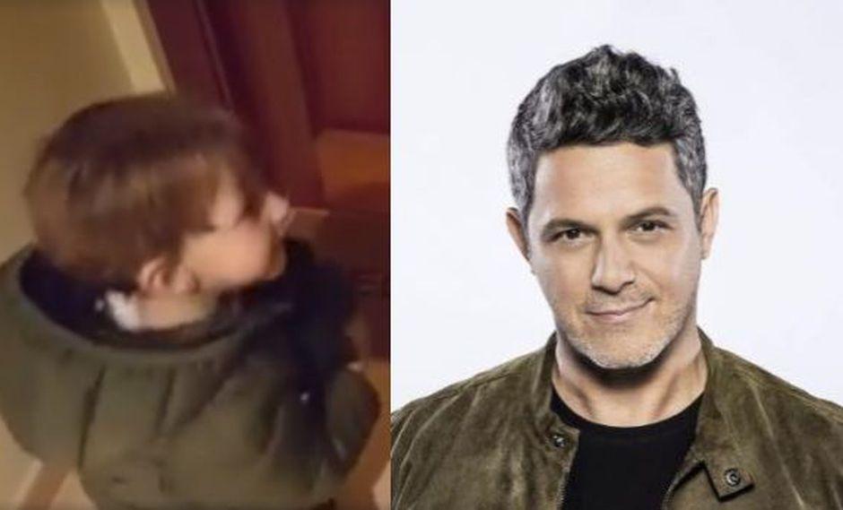 """Facebook: el """"misterio"""" del niño que cautivó a Alejandro Sanz"""