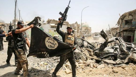 Los yihadistas han acogido con beneplácito la escalada de tensiones entre Estados Unidos e Irán. Foto: GETTY IMAGES, vía BBC Mundo