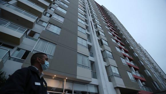 Para poder tener un plan familiar ante emergencias es importante conocer  los lugares más seguros de tu hogar. En la foto se puede ver a uno de los edificios  afectados por el sismo del 22 de junio. (Foto: Lino Chipana Obregón/ GEC)