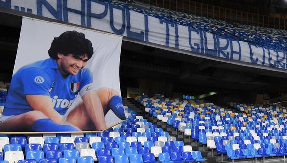 San Paolo pasó a llamarse Estadio Diego Maradona y mañana se reestrenará. (Foto: Agencias)