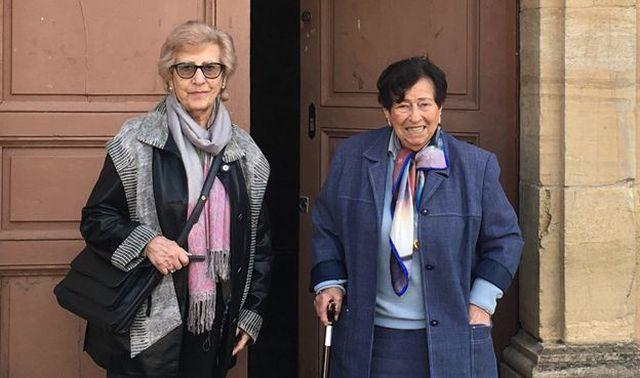 Hélène y Annie siguen visitándose tanto como pueden. (Foto: BBC Mundo).