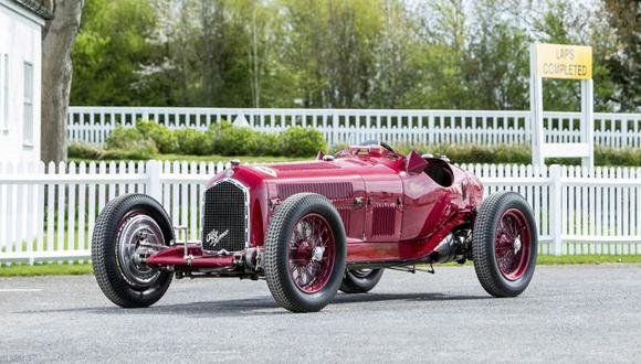 Este Alfa Romeo Tipo B de 1935 cuenta con un palmarés de 46 victorias. (Foto: Alfa Romeo).